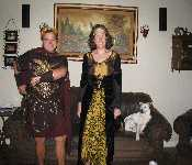 David And Kristen's Halloween Costumes 2009